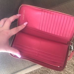 Tory Burch Bags - Red Tory Burch Wallet